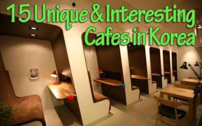 [Updated] 15 Unique and Interesting Theme Cafes in Korea!