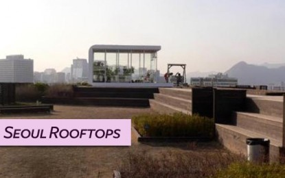 8 Awesome Rooftop Gardens and Restaurants in Seoul