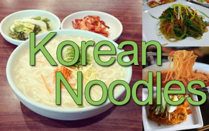 Guide to the Best Korean-Style Noodles