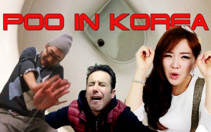 POOPING IN KOREA (Toilet Surprise!)