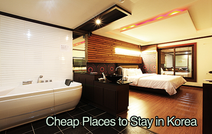 where to stay in korea for cheap