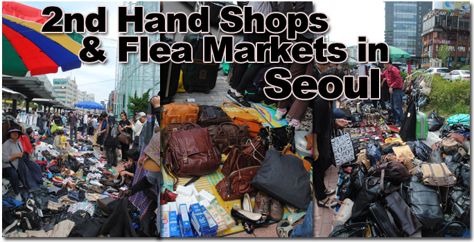 fleamarkets in seoul