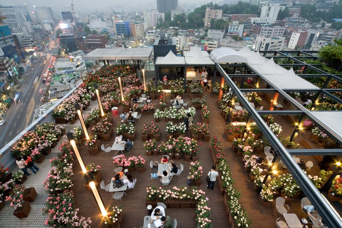 Seoul dating places