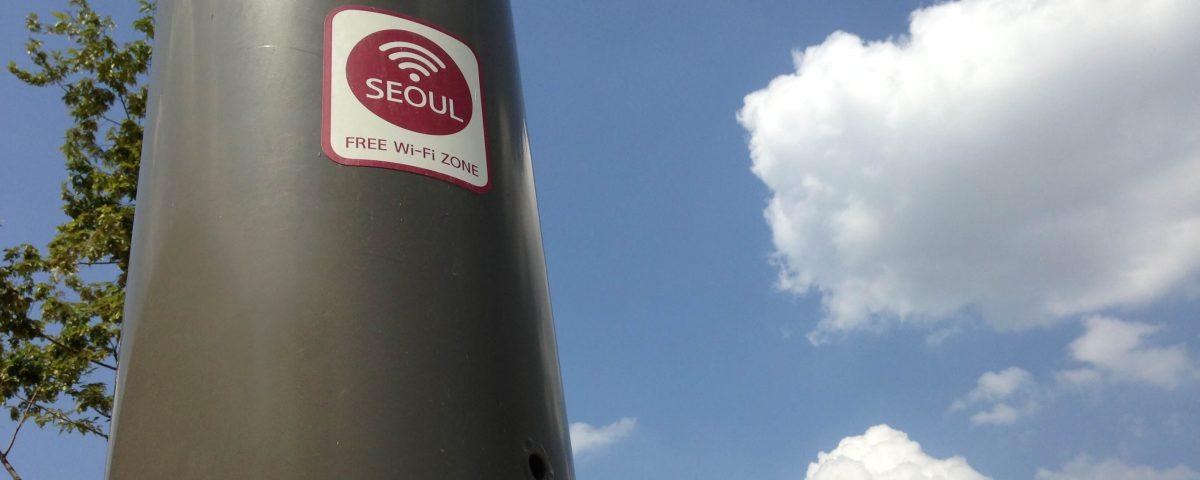 Free Wifi in Seoul