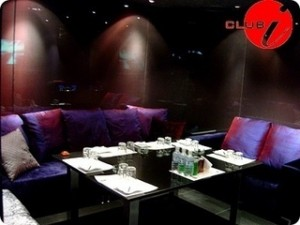 Private room for booking in Seoul's Club i