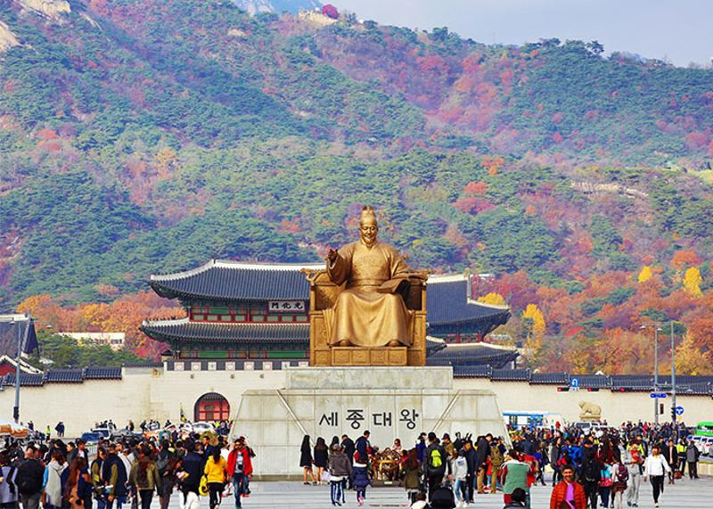 The best perk is its central location. Walkable to Gwanghwamun, Namedaemun Market, Seoul Tower, Insadong, etc. Short bus/subway ride to Hongdae, Sinchon, Dongdaemun, Itaewon, Gangnam. (Photo credit: visitseoul)
